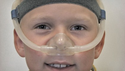 Børne-nasalmaske