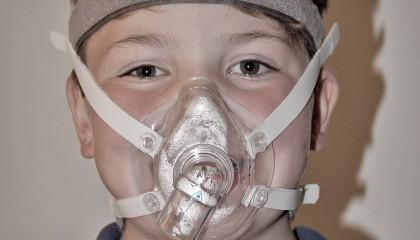 Børne-fullfacemaske
